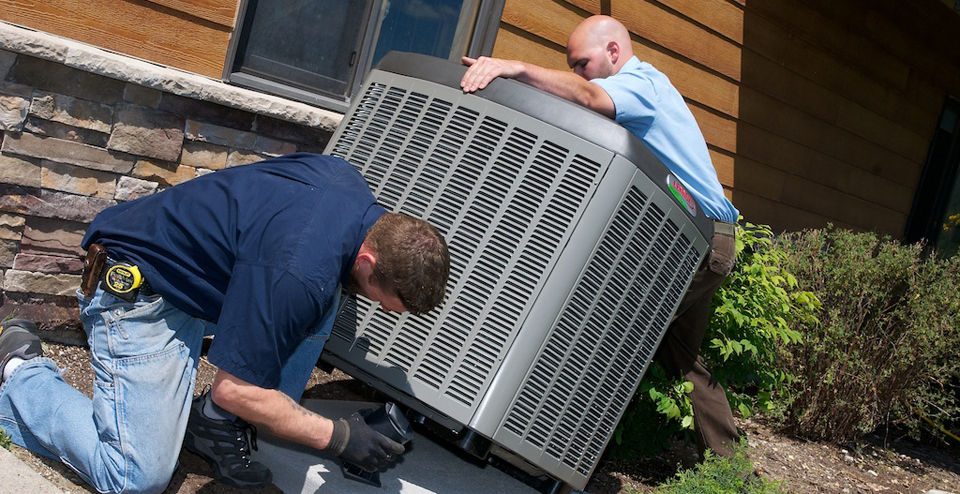 Air conditioning installation in Thornhill